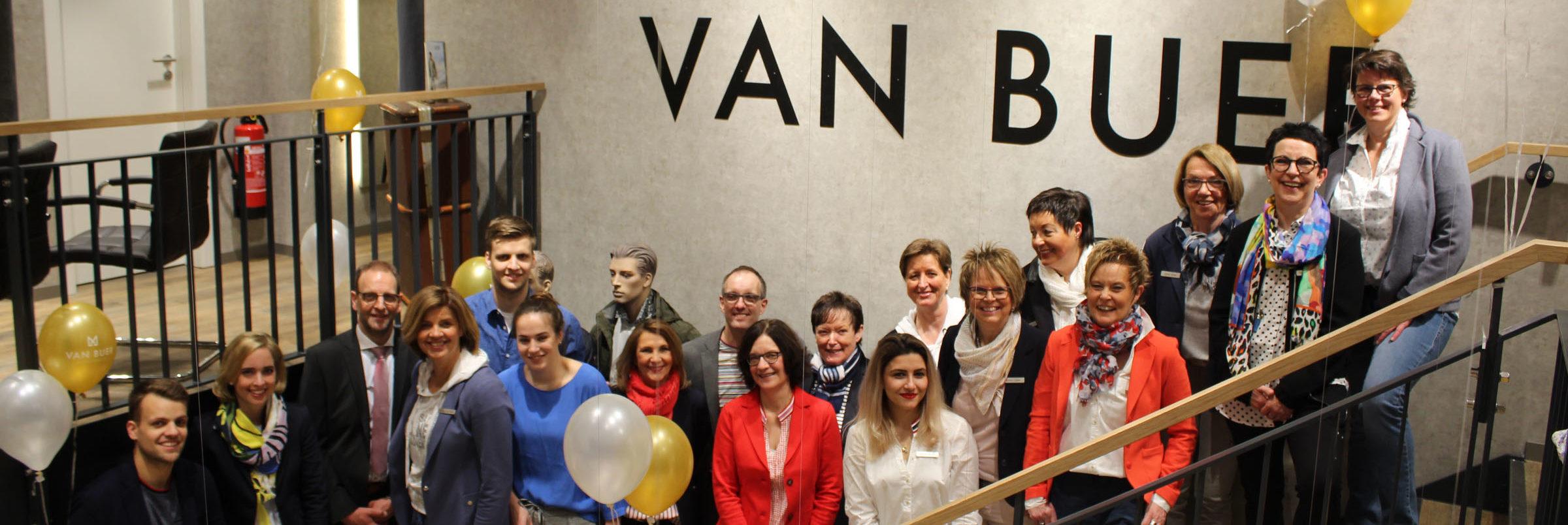 Mitarbeiter Modehaus van Buer