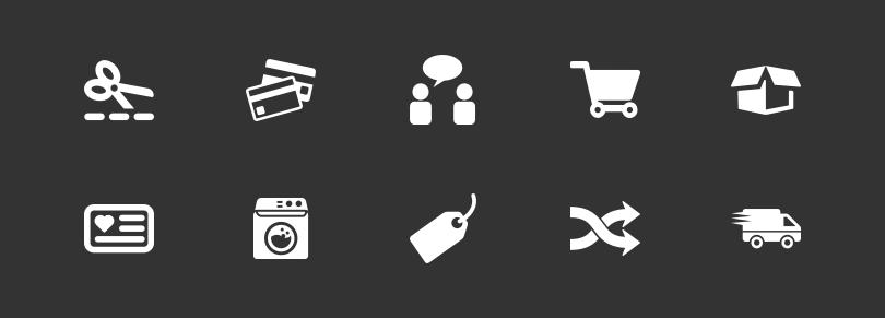 Icons der Service-Leistungen